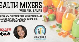 Health Mixer with Adai Lamar