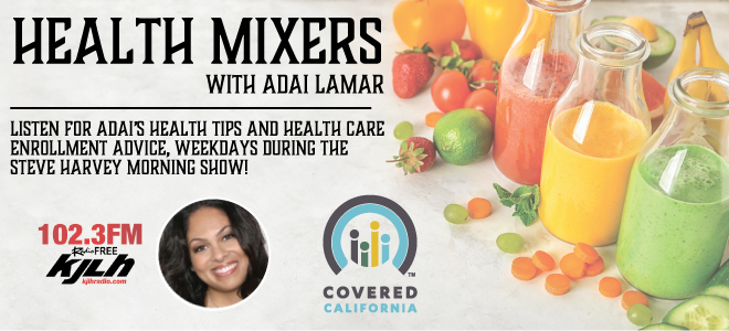 Health Mixer with Adai Lamar