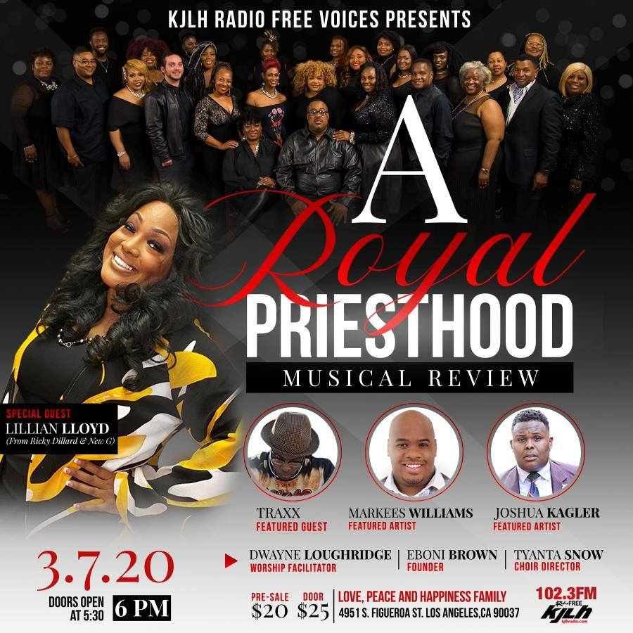 A Royal Priesthood Musical Review