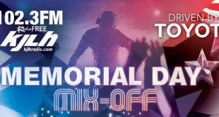 The 102.3 Radio Free KJLH Memorial Day Mix off Driven By Toyota