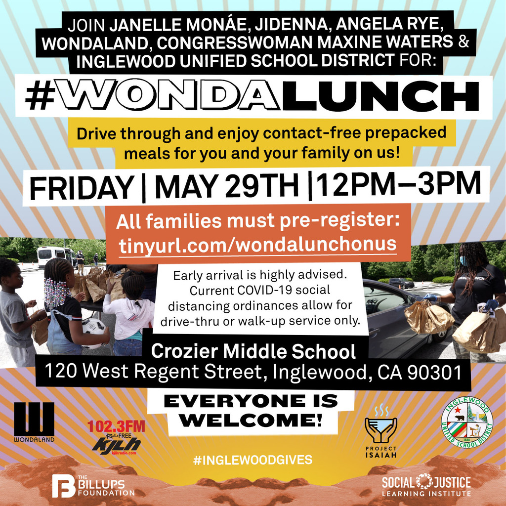 #WondaLunch Event Friday May 29