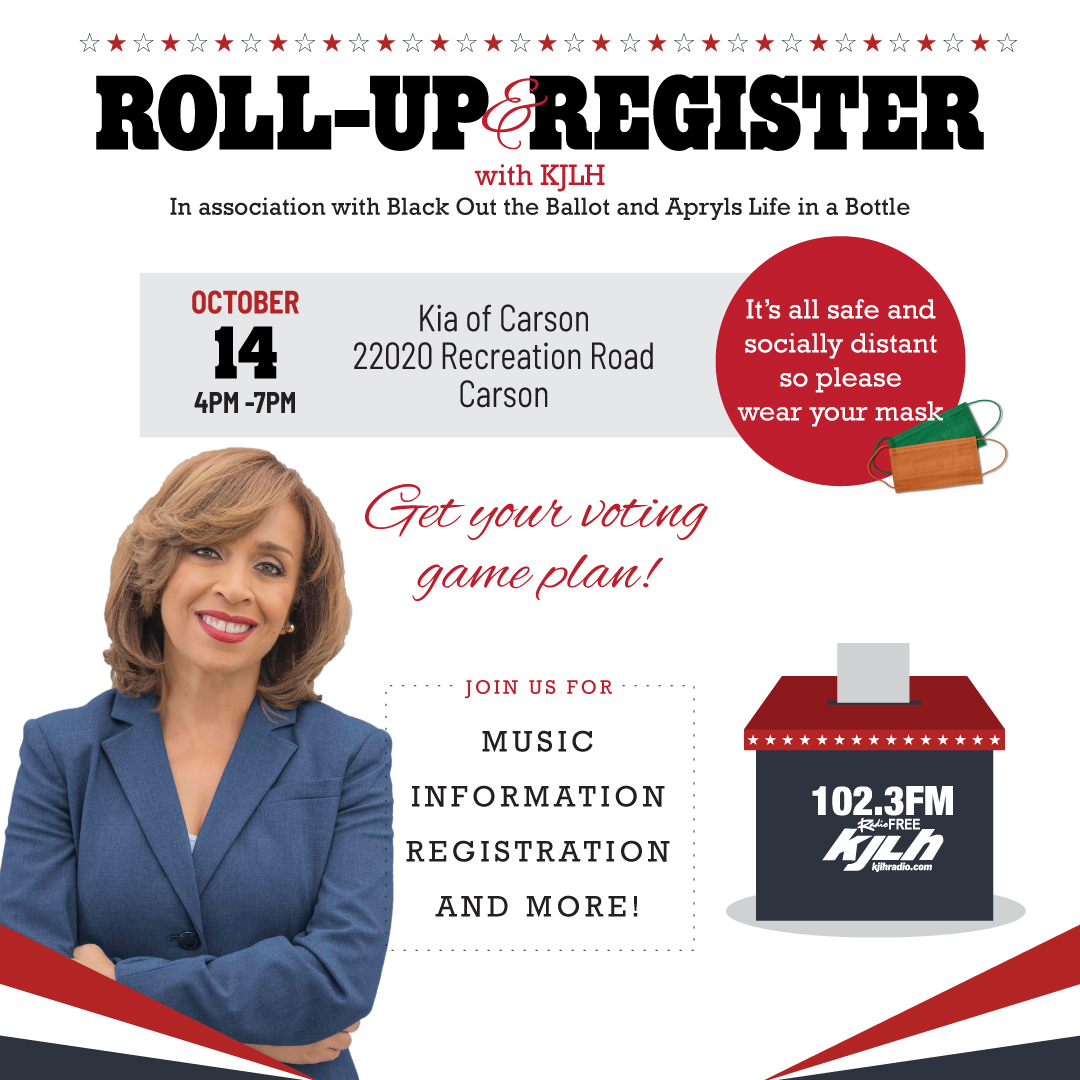 Roll up and Register Event Oct 14