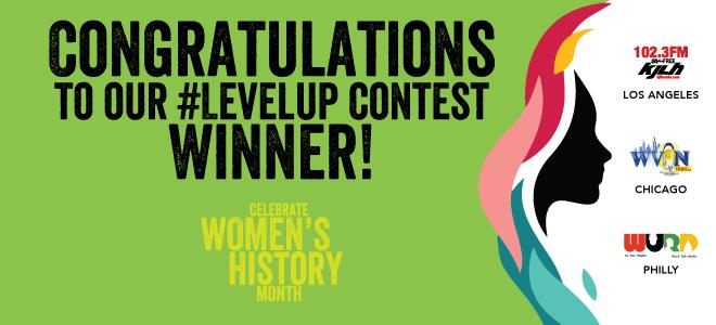 Nicole Green LevelUP Contest Winner