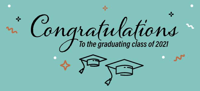 congrats to the graduates