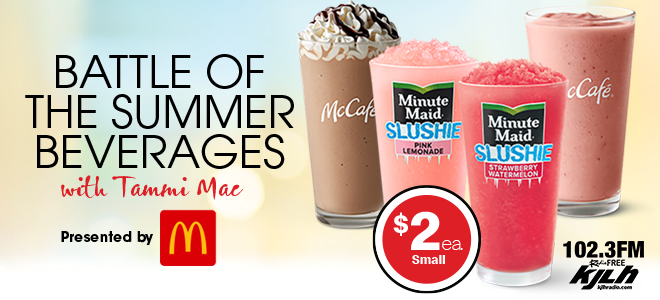 McDonald's Battle of the Summer Beverages with Tammi Mac