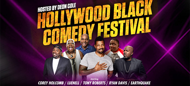 Live Nation: Hollywood Black Comedy Festival