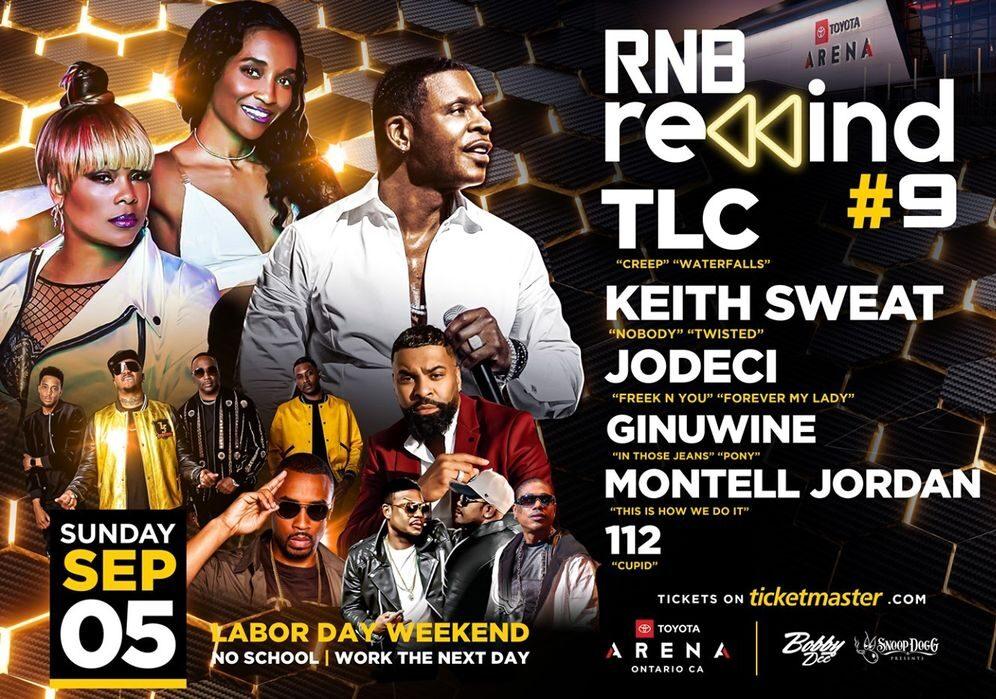 Rnb Rewind with TLC, Keith Sweat & Jodeci